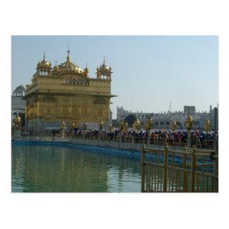 Cartão Postal Templo dourado