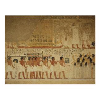 Cartão Postal Templo Luxor de Karnak, Egipto