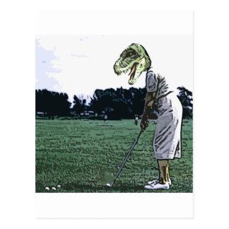 Cartão Postal tempo do T do dinossauro