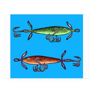 Cartão Postal Tempo dos peixes N