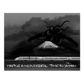 Cartão Postal Tendo uma estadia maravilhosa em Japão