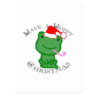 Cartão Postal Tenha um Natal Hoppy!