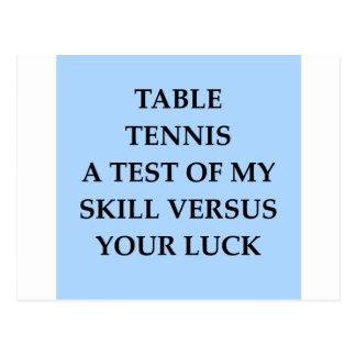 Cartão Postal tênis do tanle
