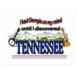 Cartão Postal Tennessee descoberto