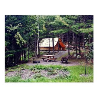 Cartão Postal Tenta Utopia - Parque nacional do Lac-Témiscouata