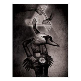 Cartão Postal Teoria da cisne preta