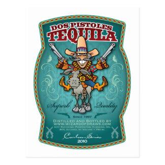 Cartão Postal Tequila do Dos Pistoles