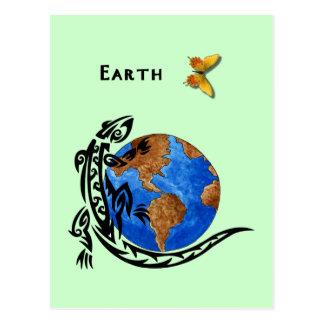 Cartão Postal Terra animal