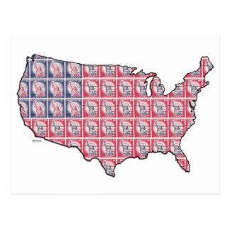 Cartão Postal Terra da liberdade