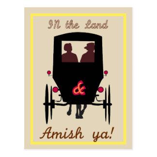 Cartão Postal Terra de Amish