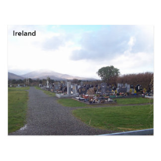 Cartão Postal Terra de enterro do acampamento, acampamento,