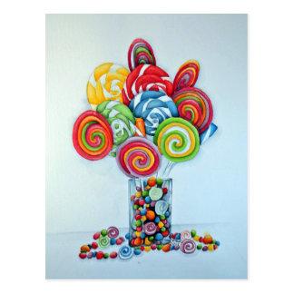 Cartão Postal Terra dos doces