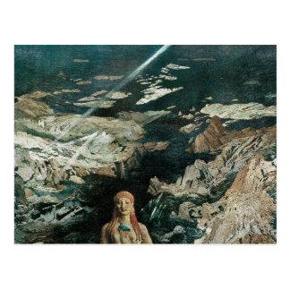 Cartão Postal Terror Antiquus, 1908 por Leon Bakst