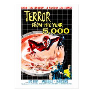 Cartão Postal Terror do ano 5000