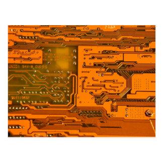 Cartão Postal Teste padrão 5 do conselho de circuito