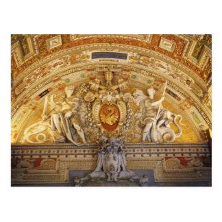 Cartão Postal Teto do vaticano mim
