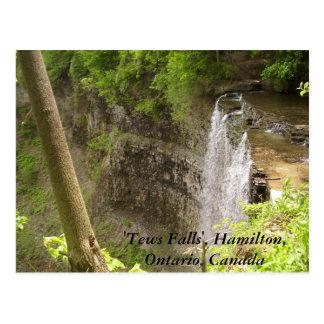 """Cartão Postal """"Tews cai"""", Hamilton, Ontário…"""