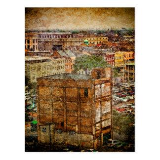 Cartão Postal Texturas de Nova Orleães Decatur