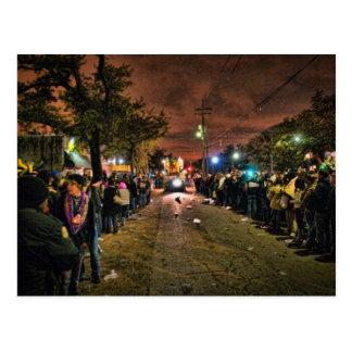 Cartão Postal Texturas do carnaval