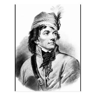 Cartão Postal Thaddeus Kosciuszko.  Copie a imagem _War
