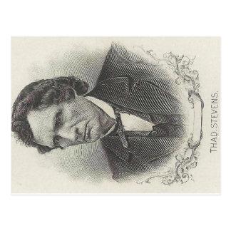 Cartão Postal Thaddeus Stevens