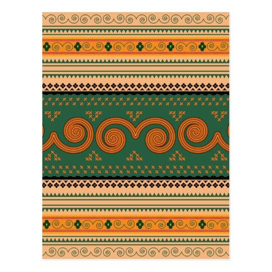 Cartão Postal Thailand Traditional Patterns   Decorative art
