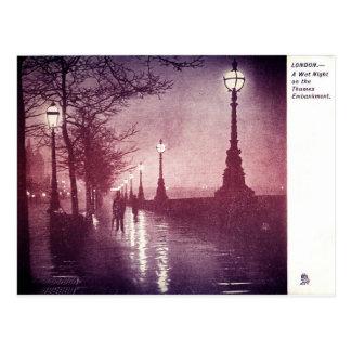 Cartão Postal Thames River Londres