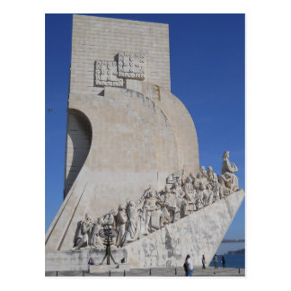 Cartão Postal The Monument to the Discoveries (overview), Lisbon