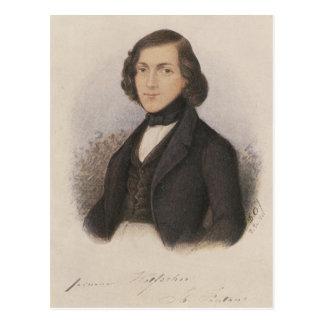 Cartão Postal Theodor Fontane, 1843