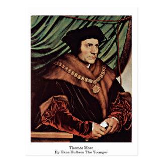 Cartão Postal Thomas mais por Hans Holbein o mais novo