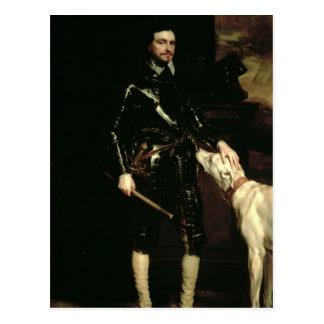 Cartão Postal Thomas Wentworth, ø conde de Strafford 1633-6