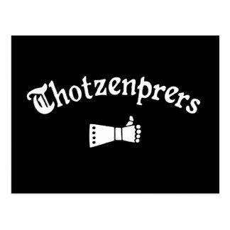 Cartão Postal Thotzenprers