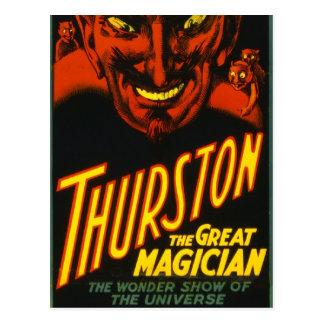 Cartão Postal Thurston o excelente!