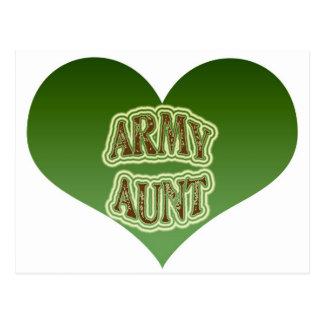 Cartão Postal Tia do exército