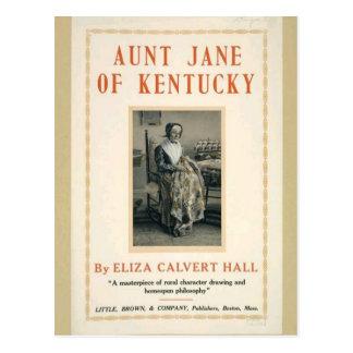 Cartão Postal Tia Jane de Kentucky
