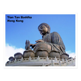 Cartão Postal Tian Tan Buddha, Hong Kong