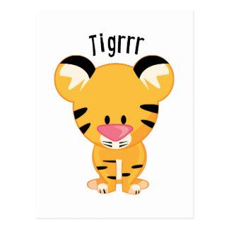 Cartão Postal Tigrrr