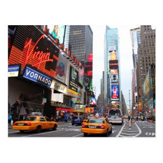 Cartão Postal Times Square da Nova Iorque