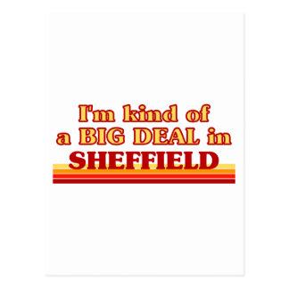 Cartão Postal Tipo de I´m de uma grande coisa em Sheffield