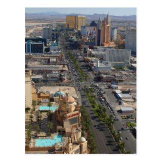 Cartão Postal Tira da torre Eiffel de Las Vegas