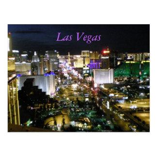 Cartão Postal Tira Nevada de Las Vegas NevadaBoulevard