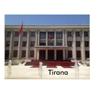 Cartão Postal Tirana