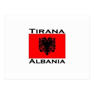 Cartão Postal Tirana, Albânia