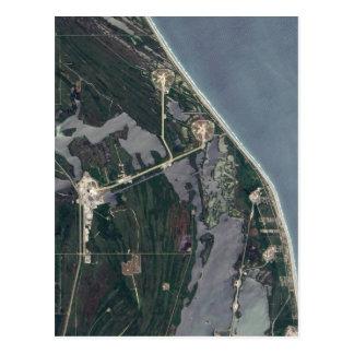 Cartão Postal Tiro da antena de Cabo Canaveral