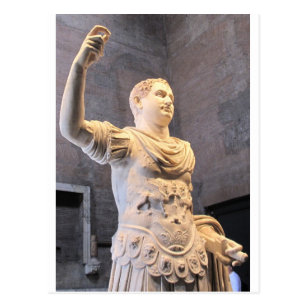 77e8f4a92fa Cartão Postal Titus Flavius Vespasianus - imperador romano