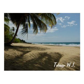 Cartão Postal Tobago W.I.