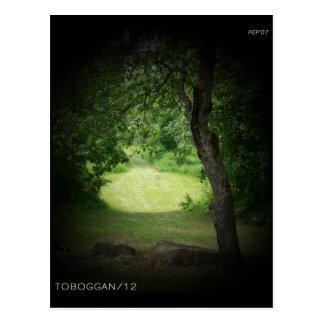 Cartão Postal Toboggan #12 de Kensington