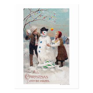 Cartão Postal Toda a alegria do Natal seja sua