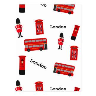 Cartão Postal Todas as coisas Londres