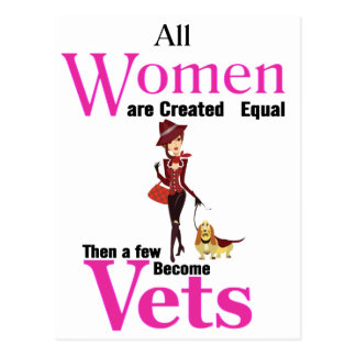 Cartão Postal Todas as mulheres são semelhante criado então que
